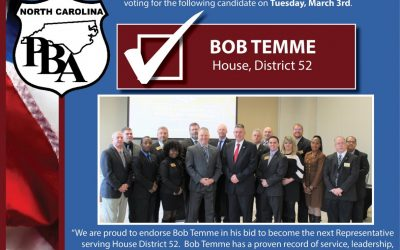 Endorsement by the NC Police Benevolent Association